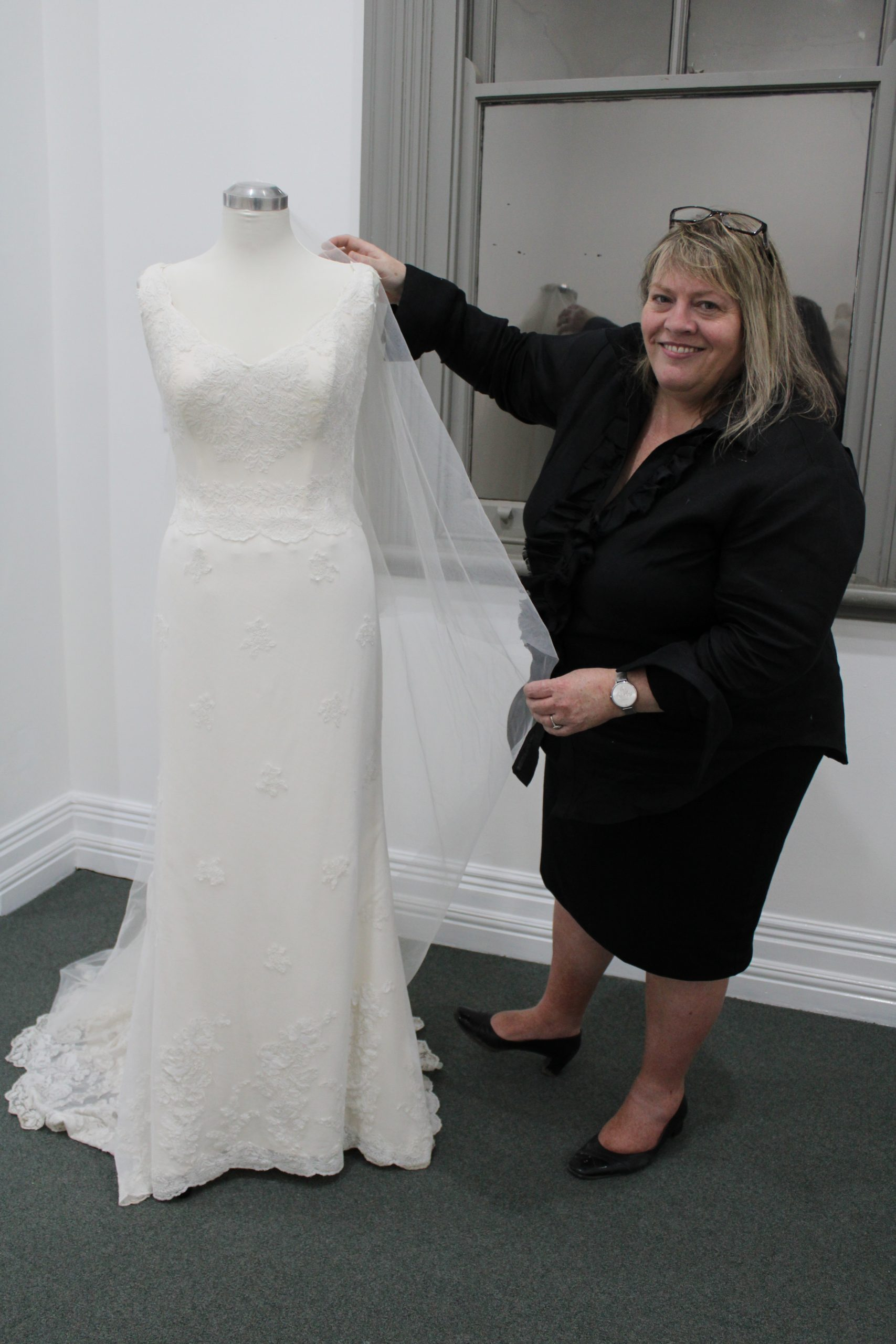 Spectacular wedding gown seamstress in spotlight   GALLERY   The ...