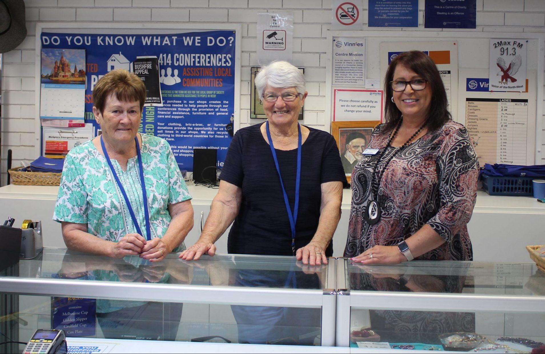Vinnies seeking more volunteers to join its team