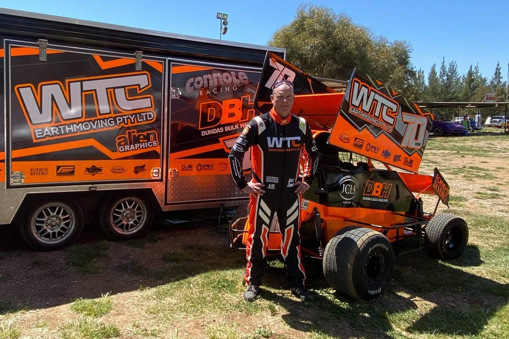 Scott Connole places second in Formula 500 NSW series