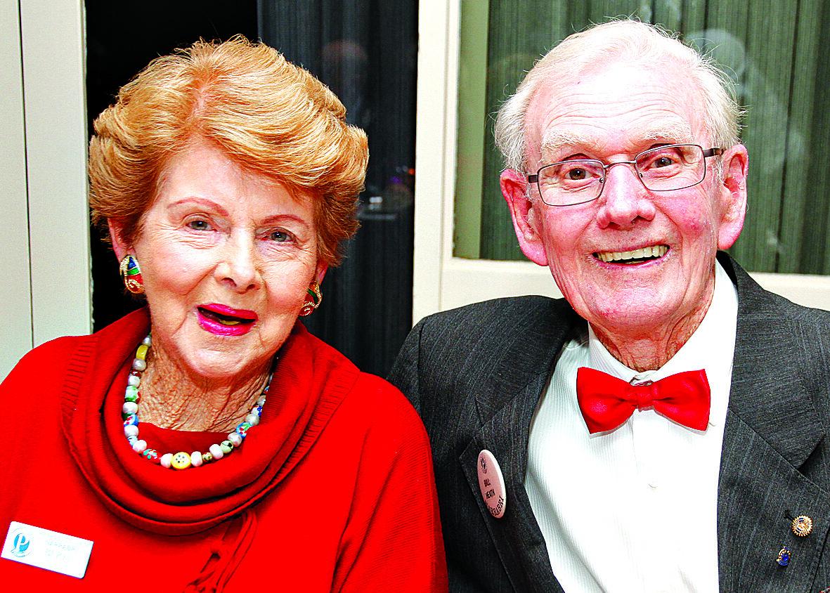 The late Bill Heath OAM with Beryl Heath.