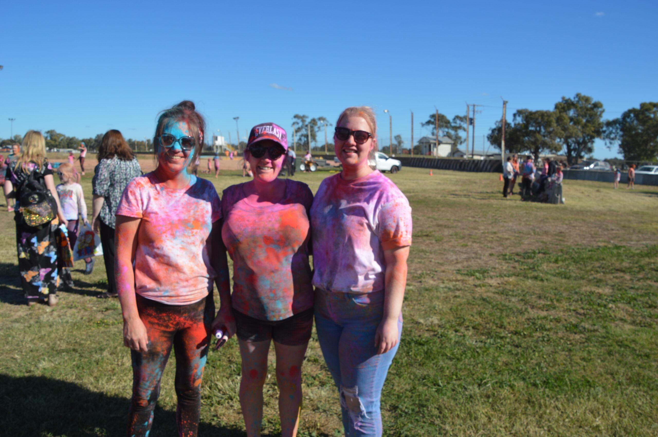 Liz Briggs, Emily McFetridge and Kristy Pattison.