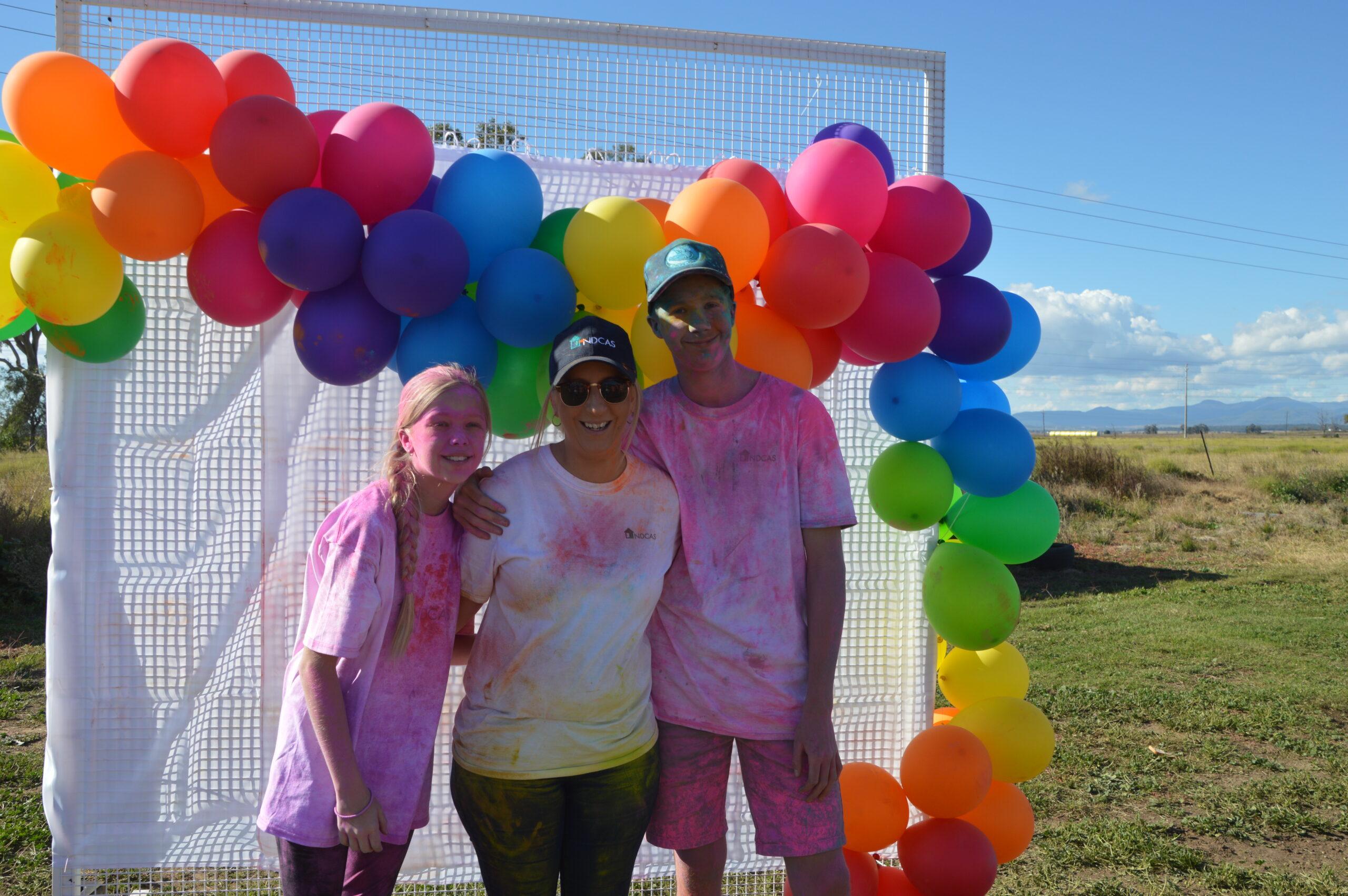 Yasmin, Renee and Lachlan Finnigan.