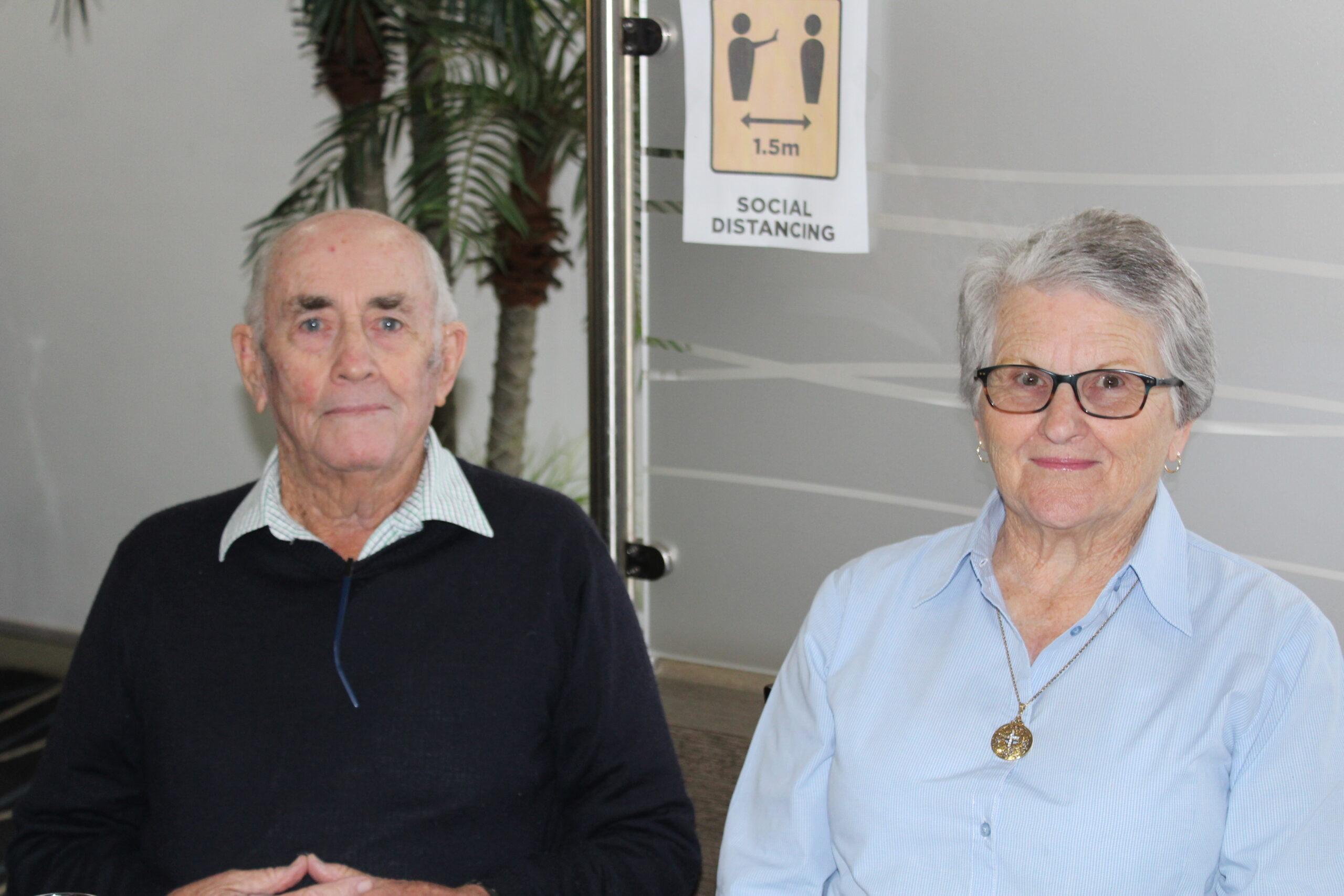 Ross and Kay Warner.