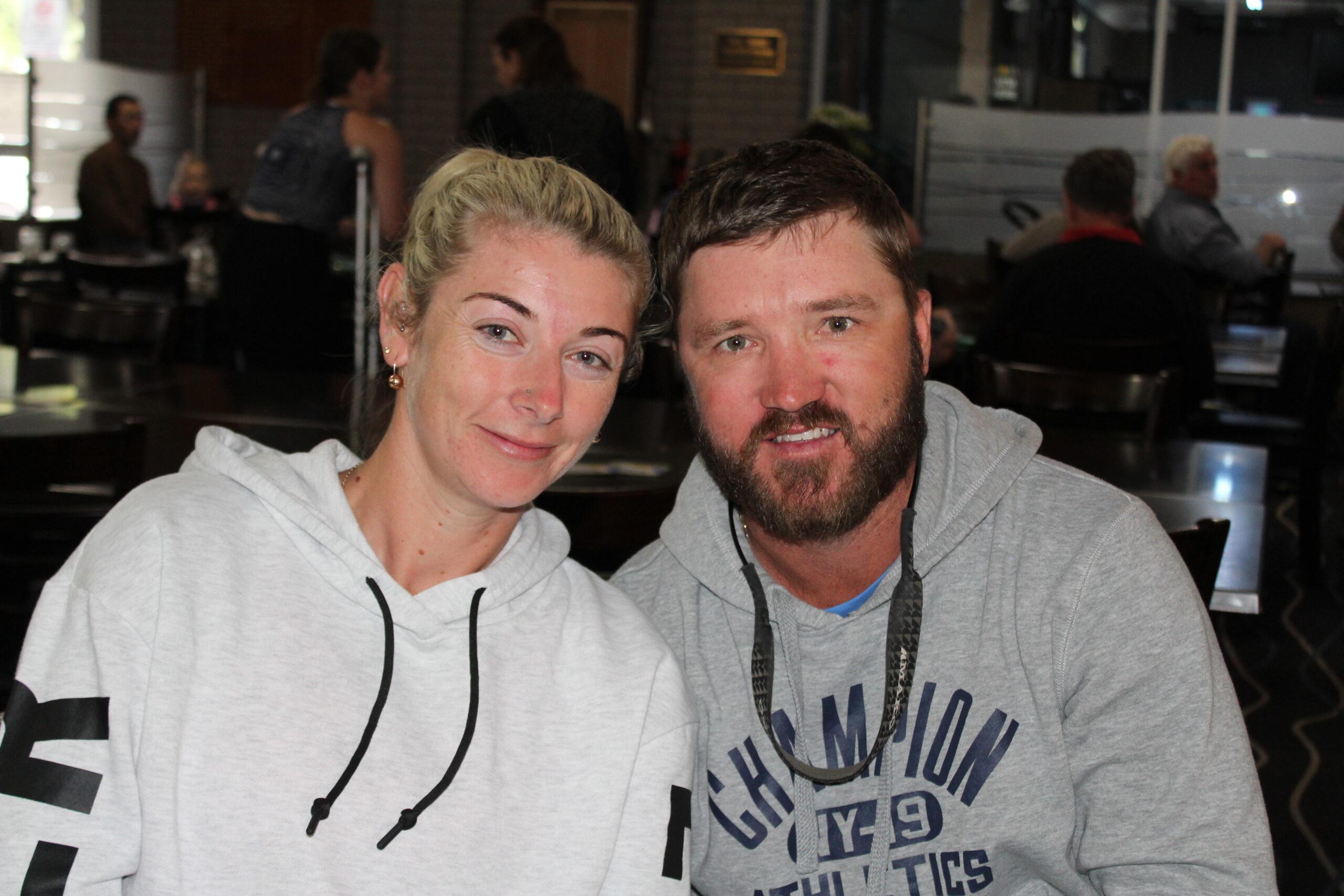 Danielle Blackford and Daniel Kane.