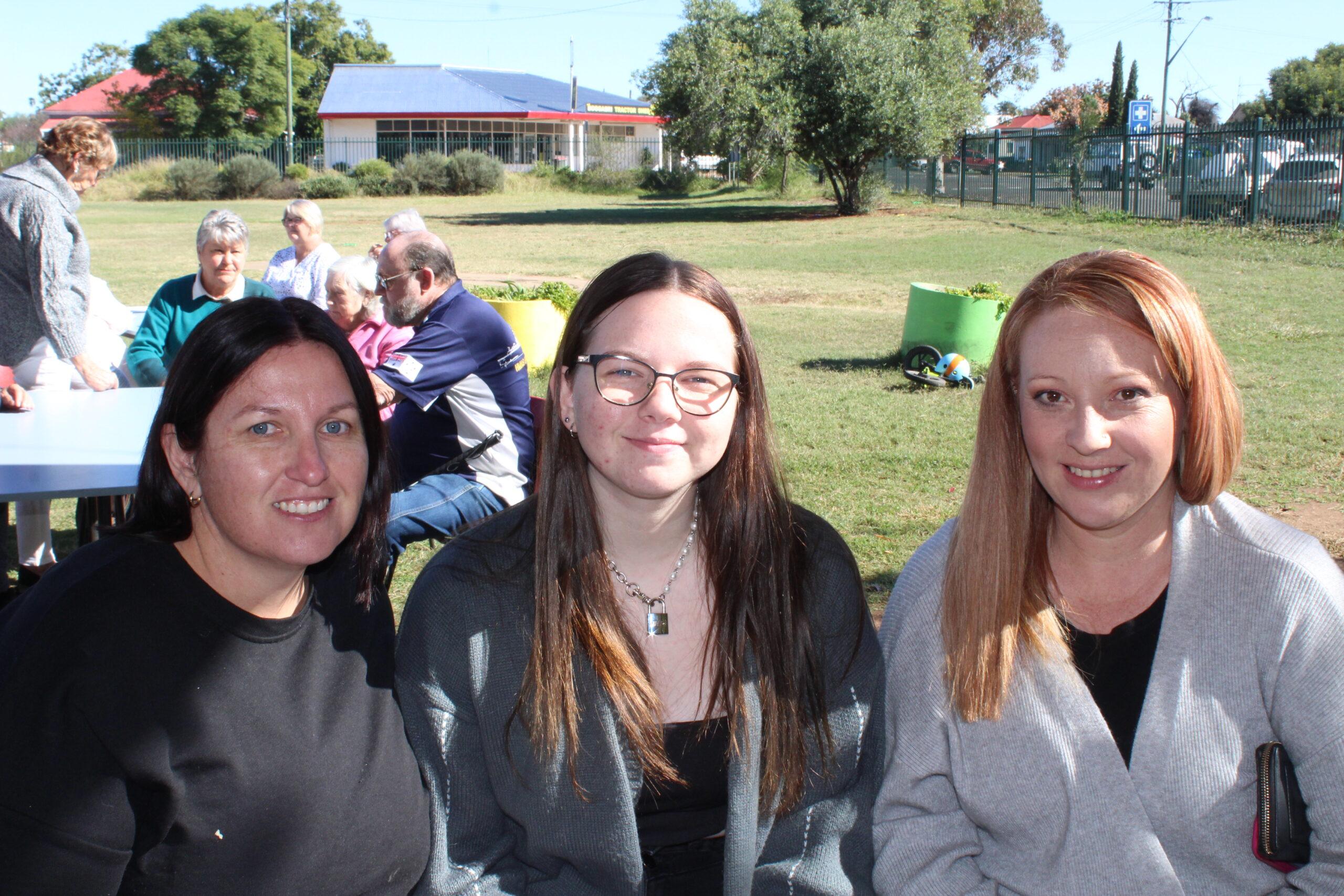 Belinda Adamson, Chloe Devine and Stephanie Hancock.