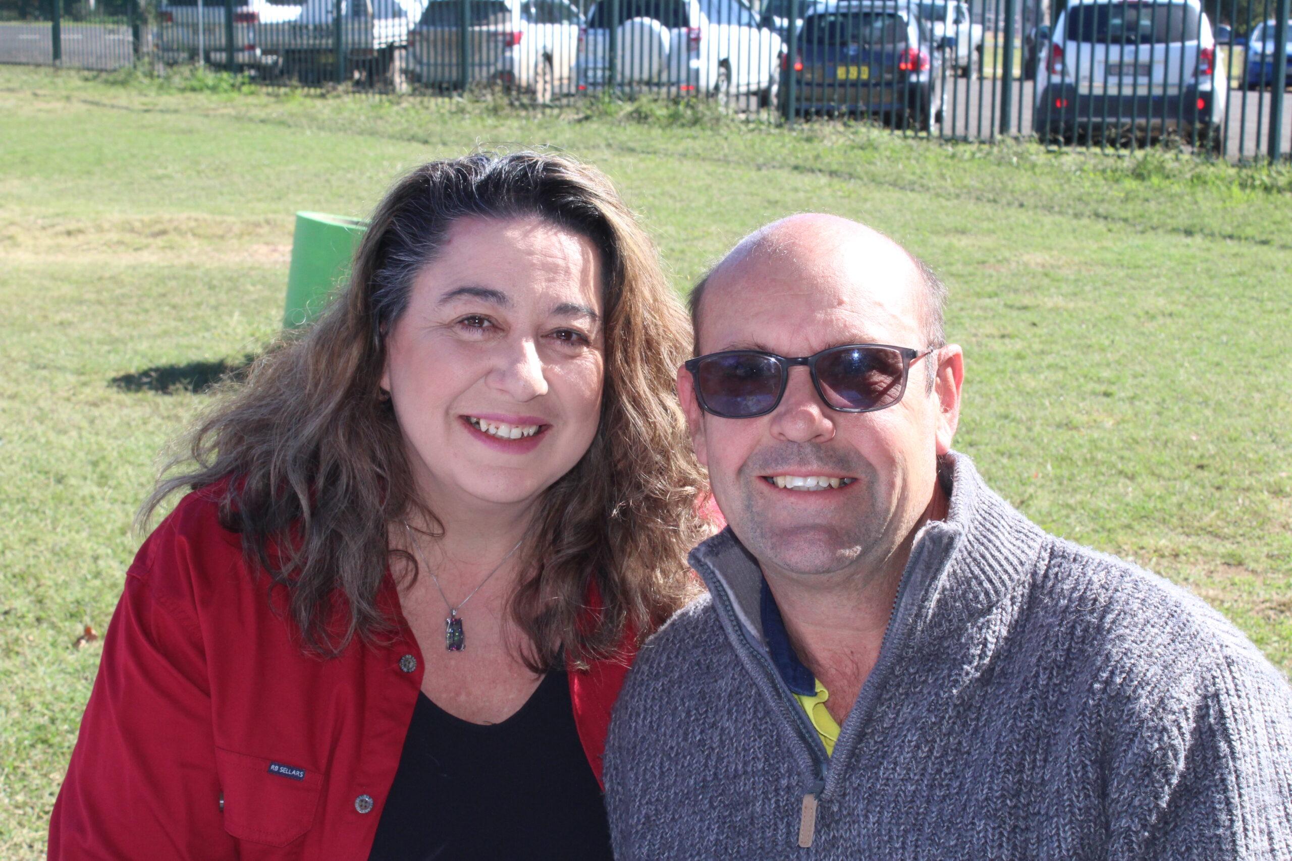 Teena and Greg Debrecency.