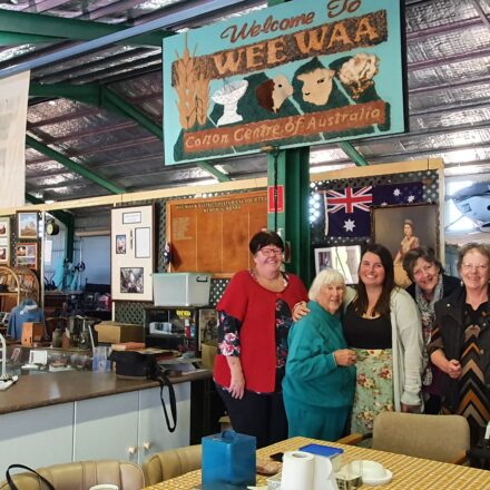 Song tribute to Wee Waa museum