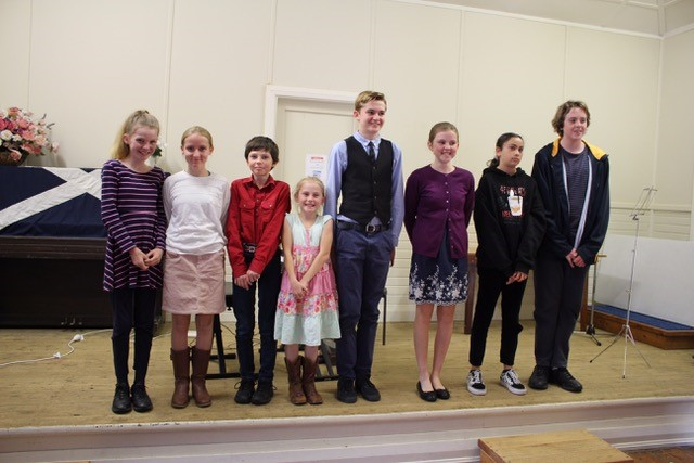 Practice concert prior to Eisteddfod   PHOTOS