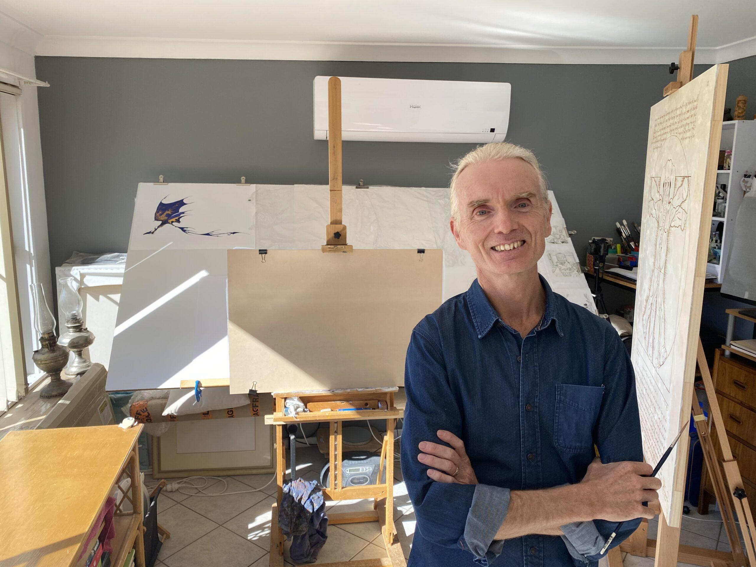 Jumbo sized task a labour of love for artist Graeme