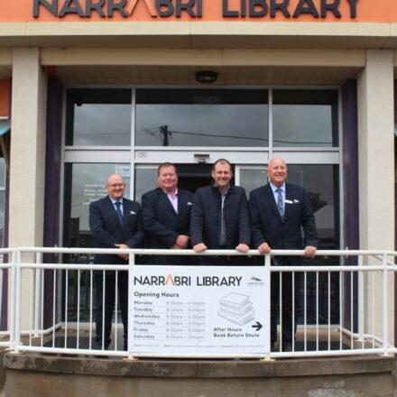 More than $140,000 for new wheels at Narrabri Library