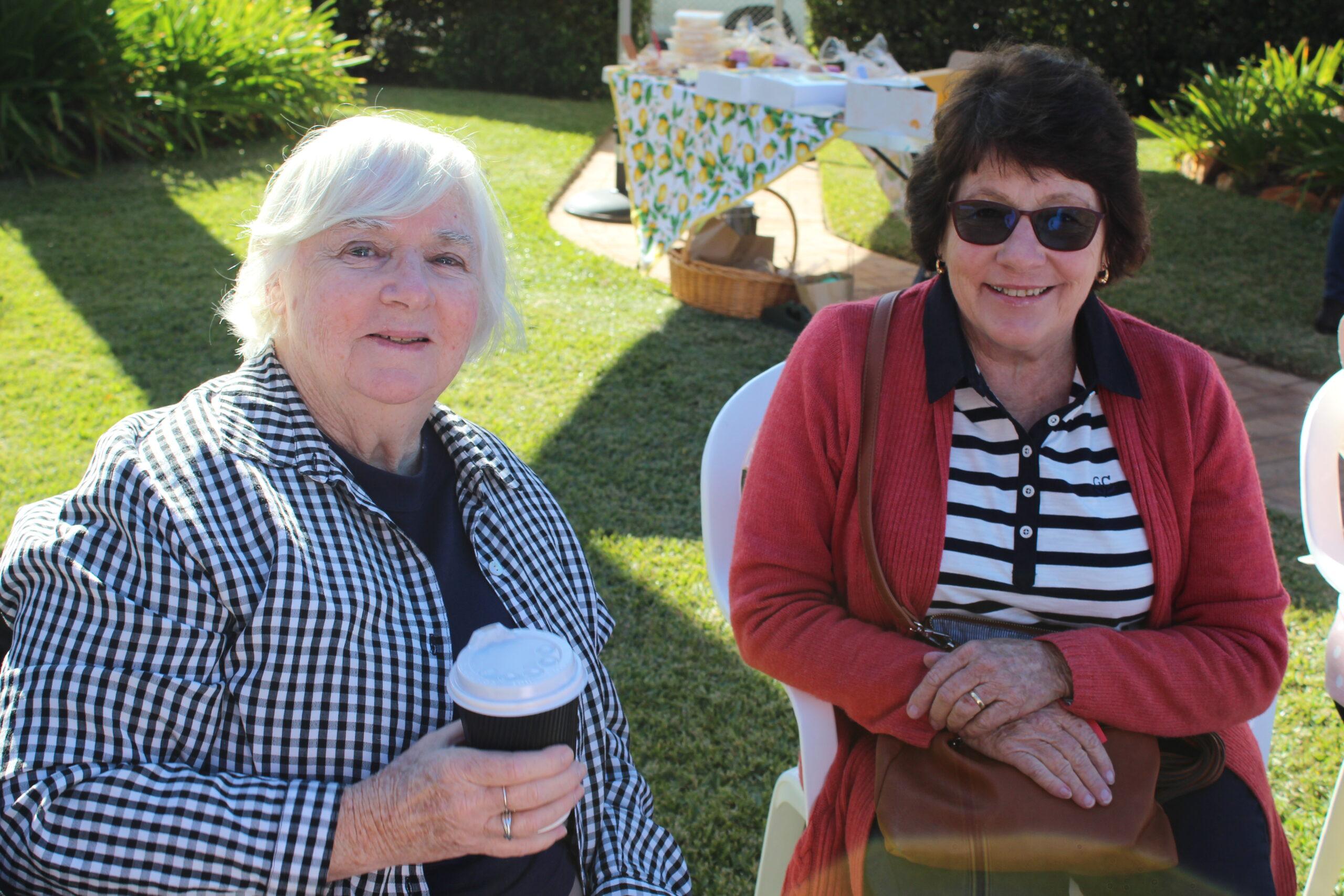 Elizabeth McPhee and Janet Dampney.