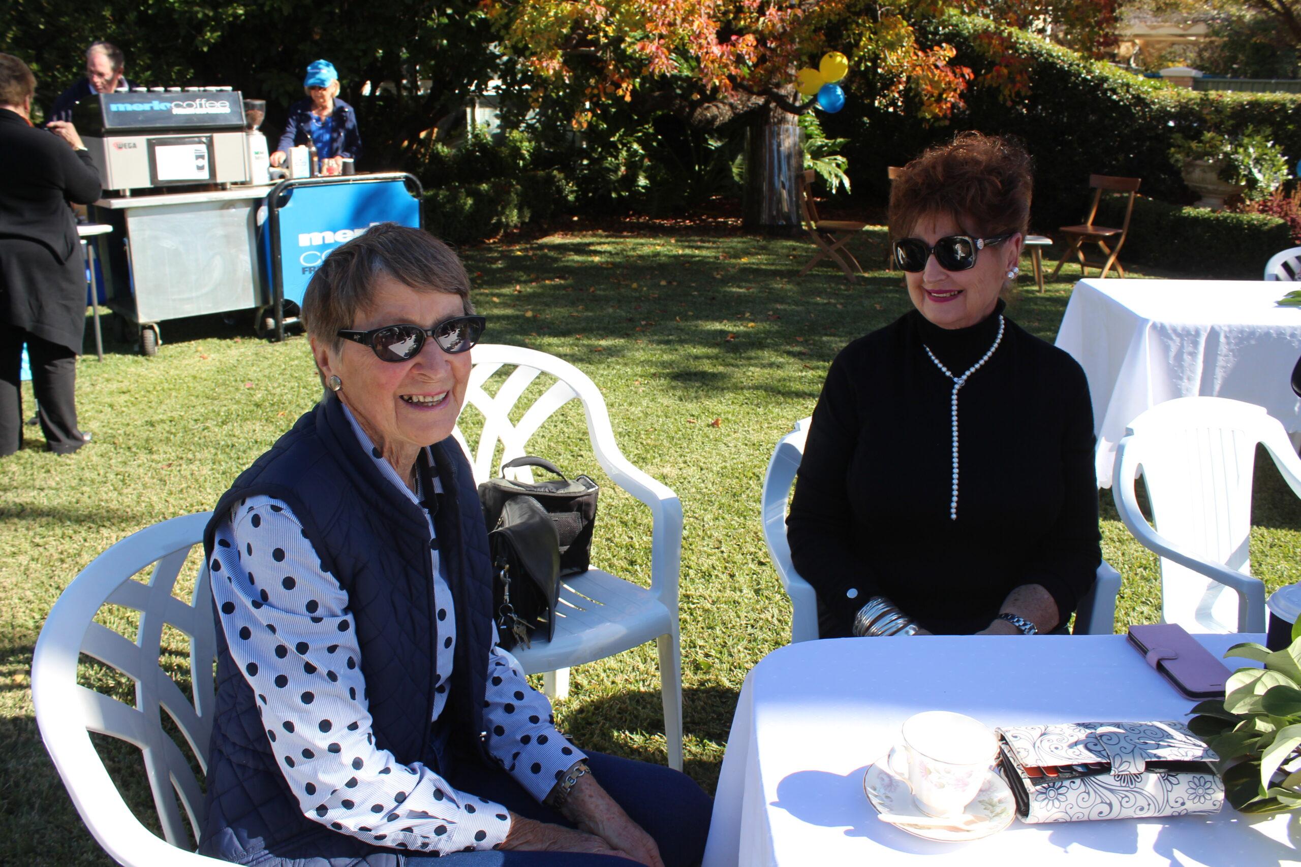 Margaret Sendall and Lynette Wright.
