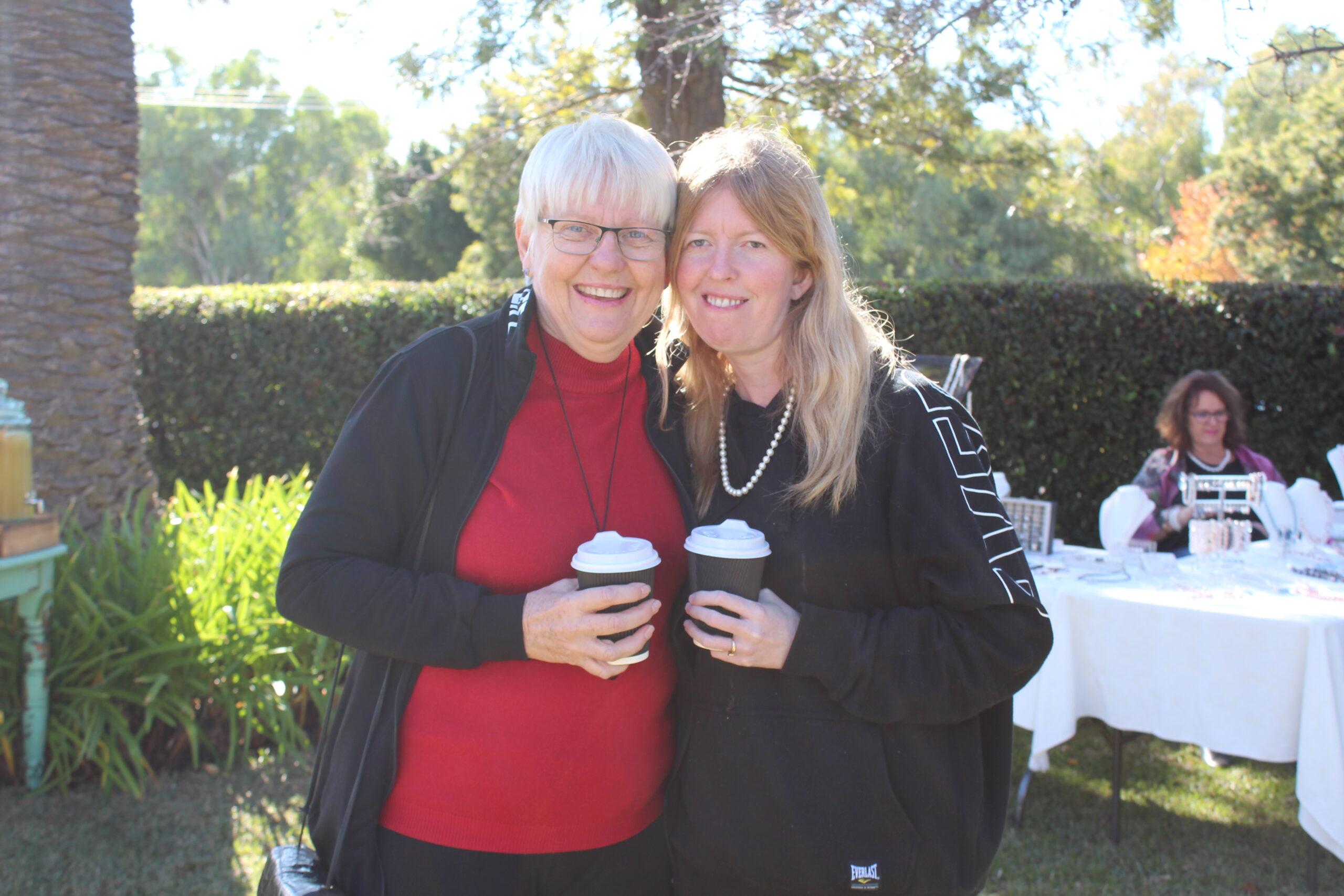 Vicki Stubbs and Hayley Kinstler.