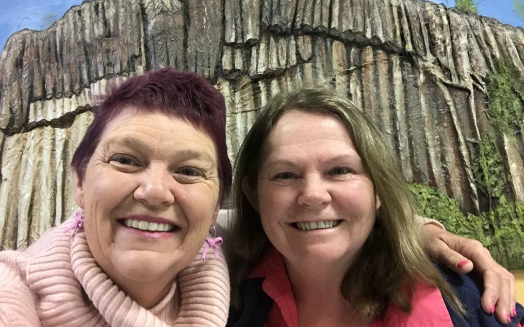 'Let's turn three towns pink' urges Karen