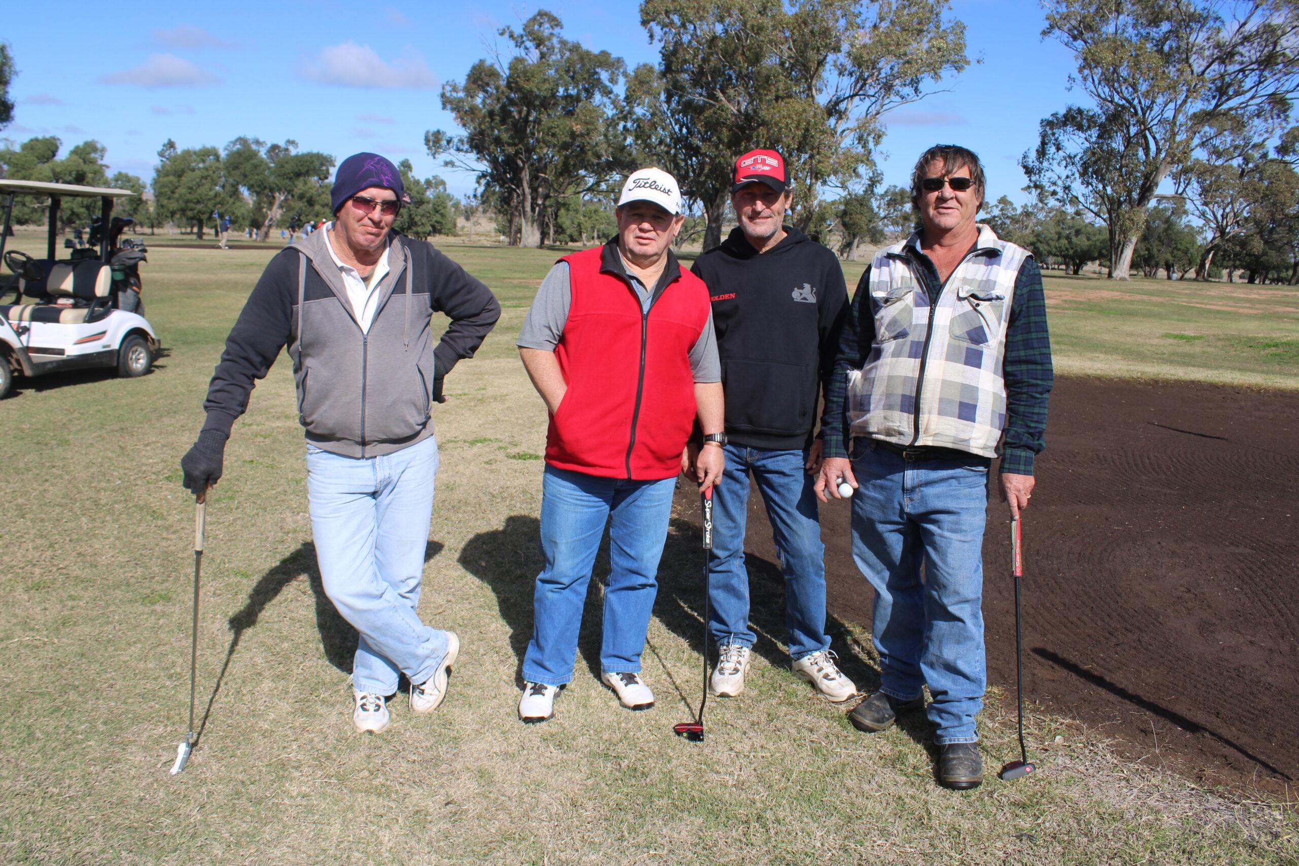 Paul Miller, Richard Miller, Tim Simmonds and Andrew Stieger.