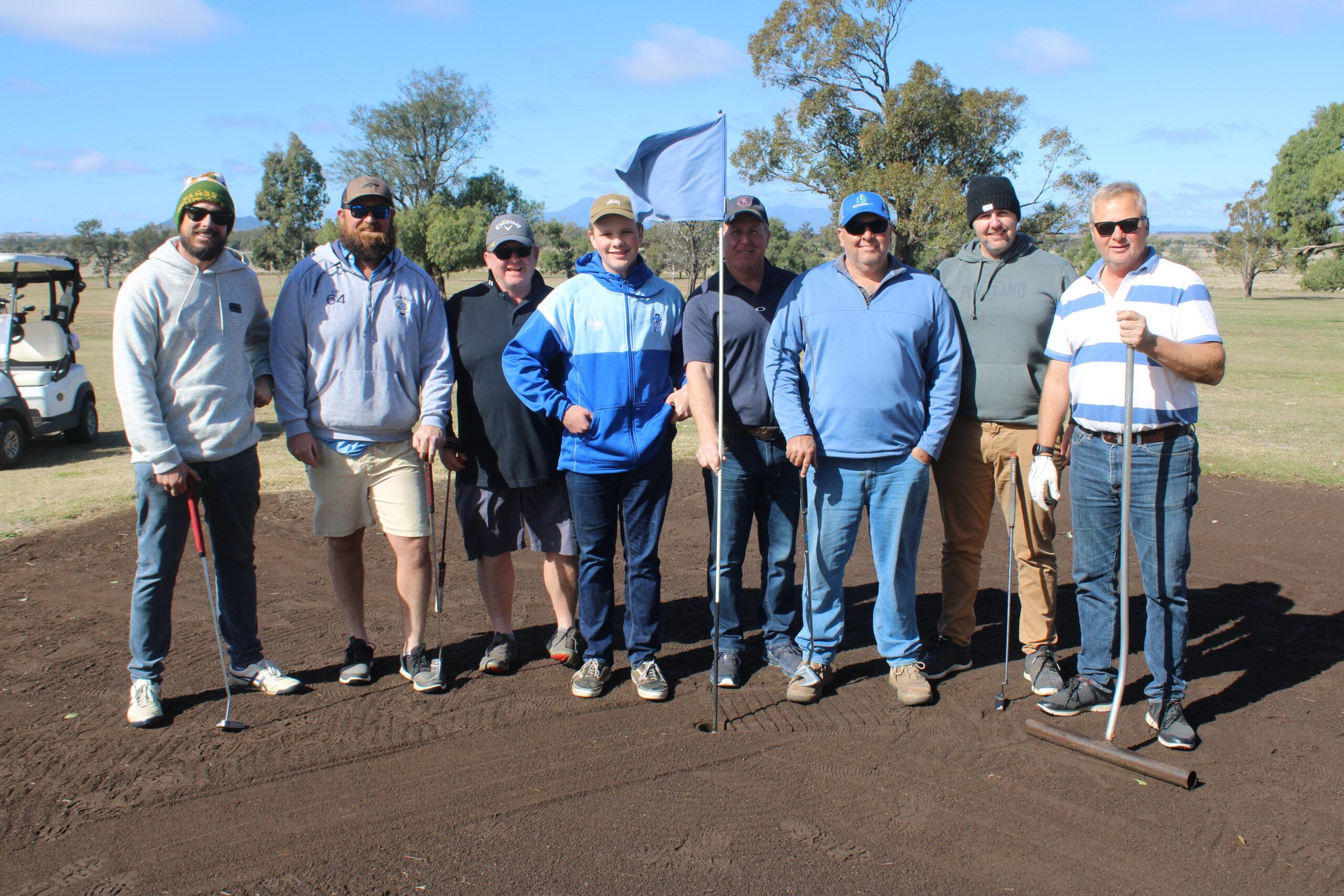 Bellata Golf Club hosts annual men's open day