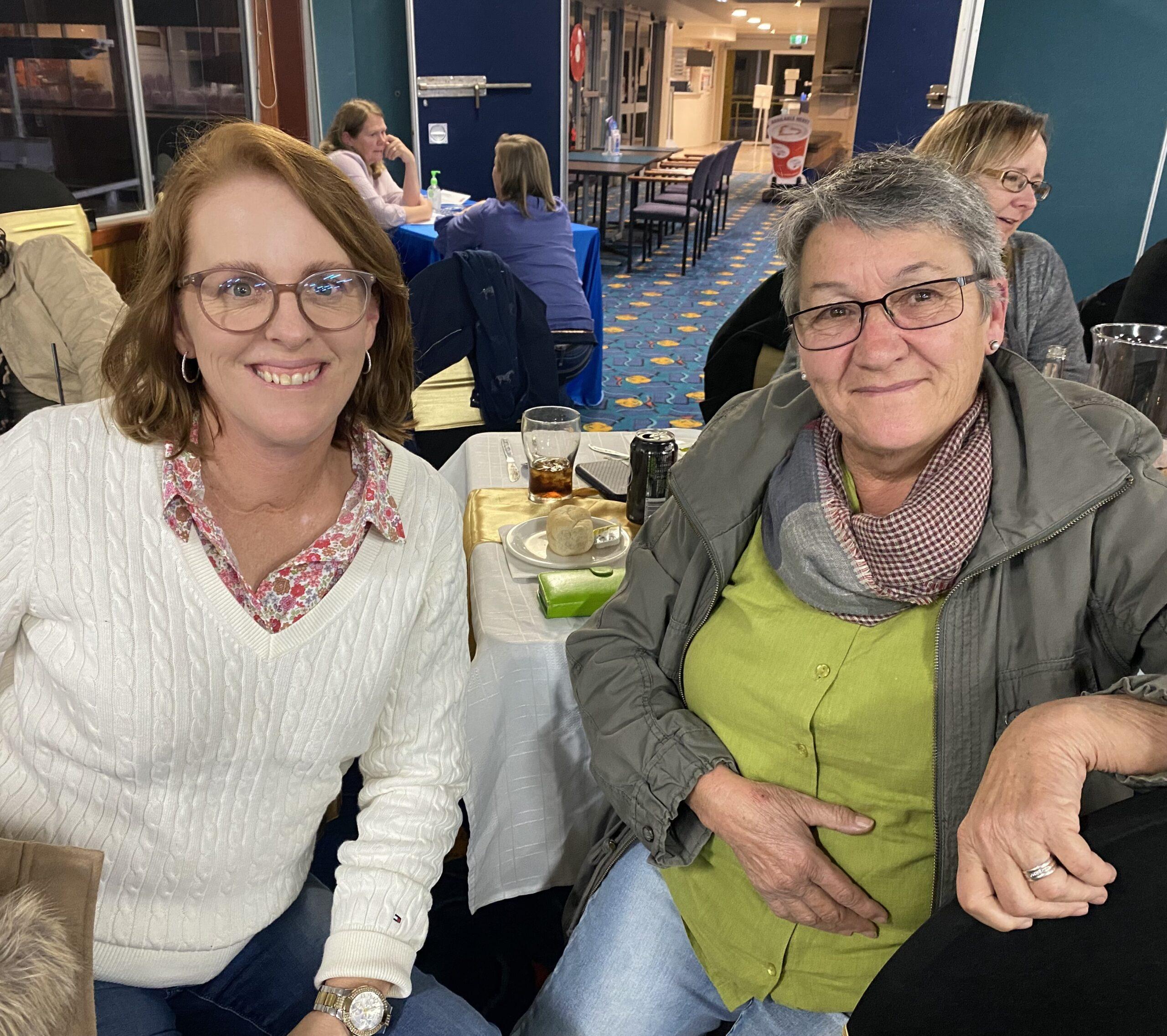Lisa Pfeffer and Roxanne Whitton.