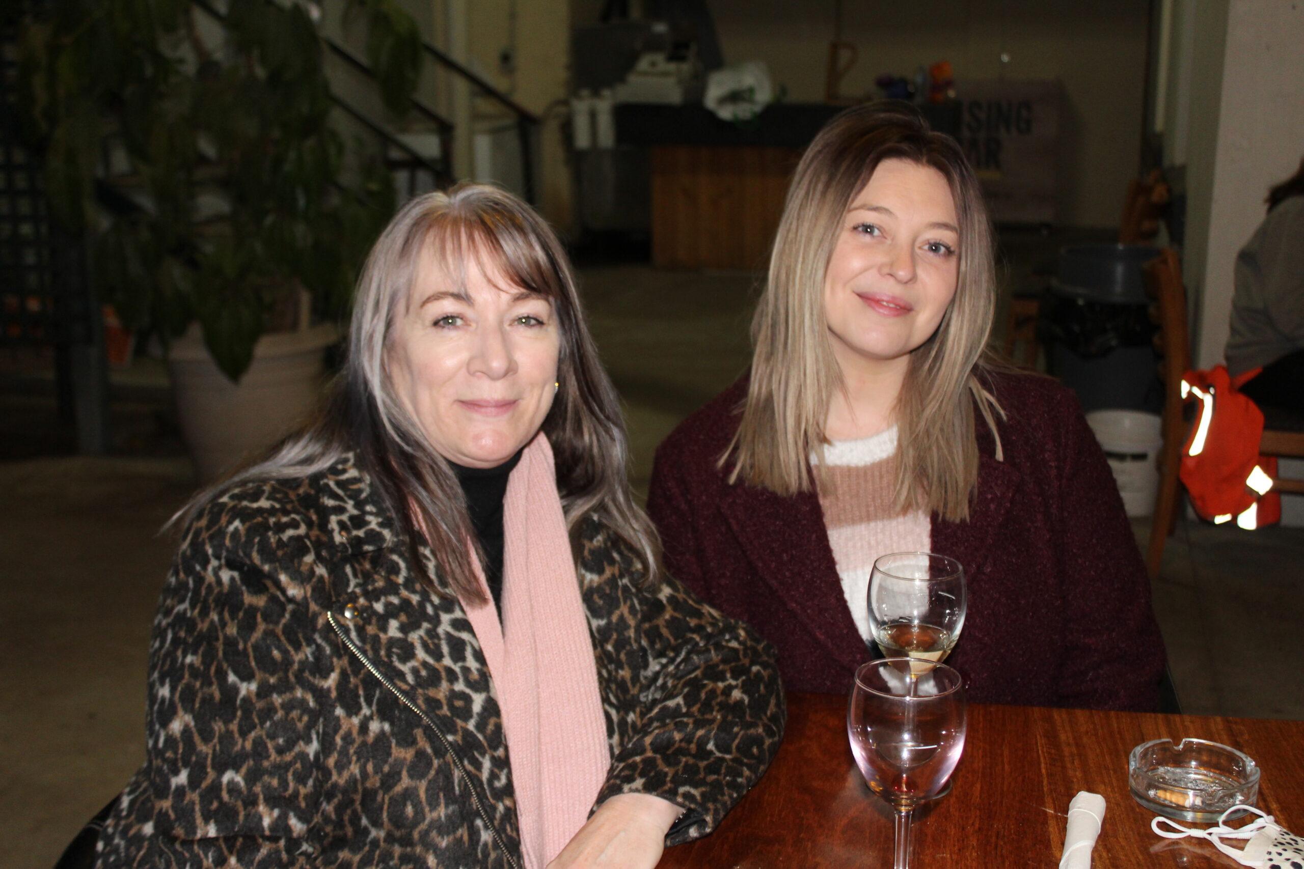 Janice Bennie and Jessica Apro.