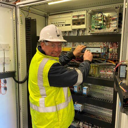 Automation engineer Joab graduates at CUC