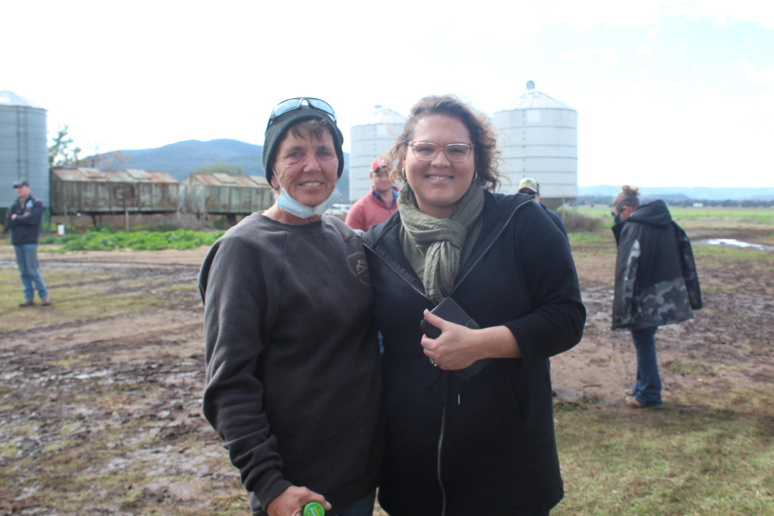 Judy Maunder and Erin Wheatley.