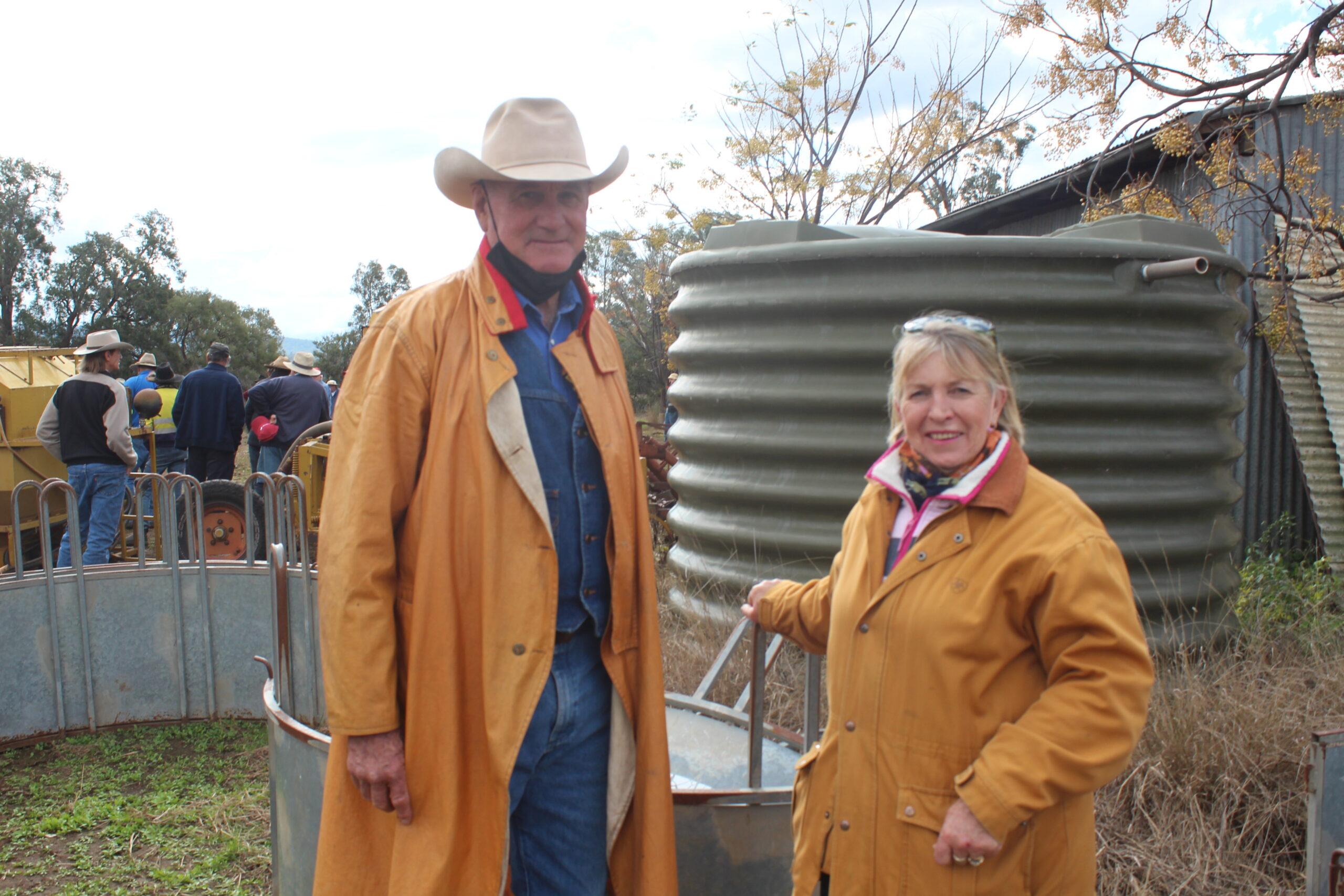 Steve and Jenny Bradshaw.