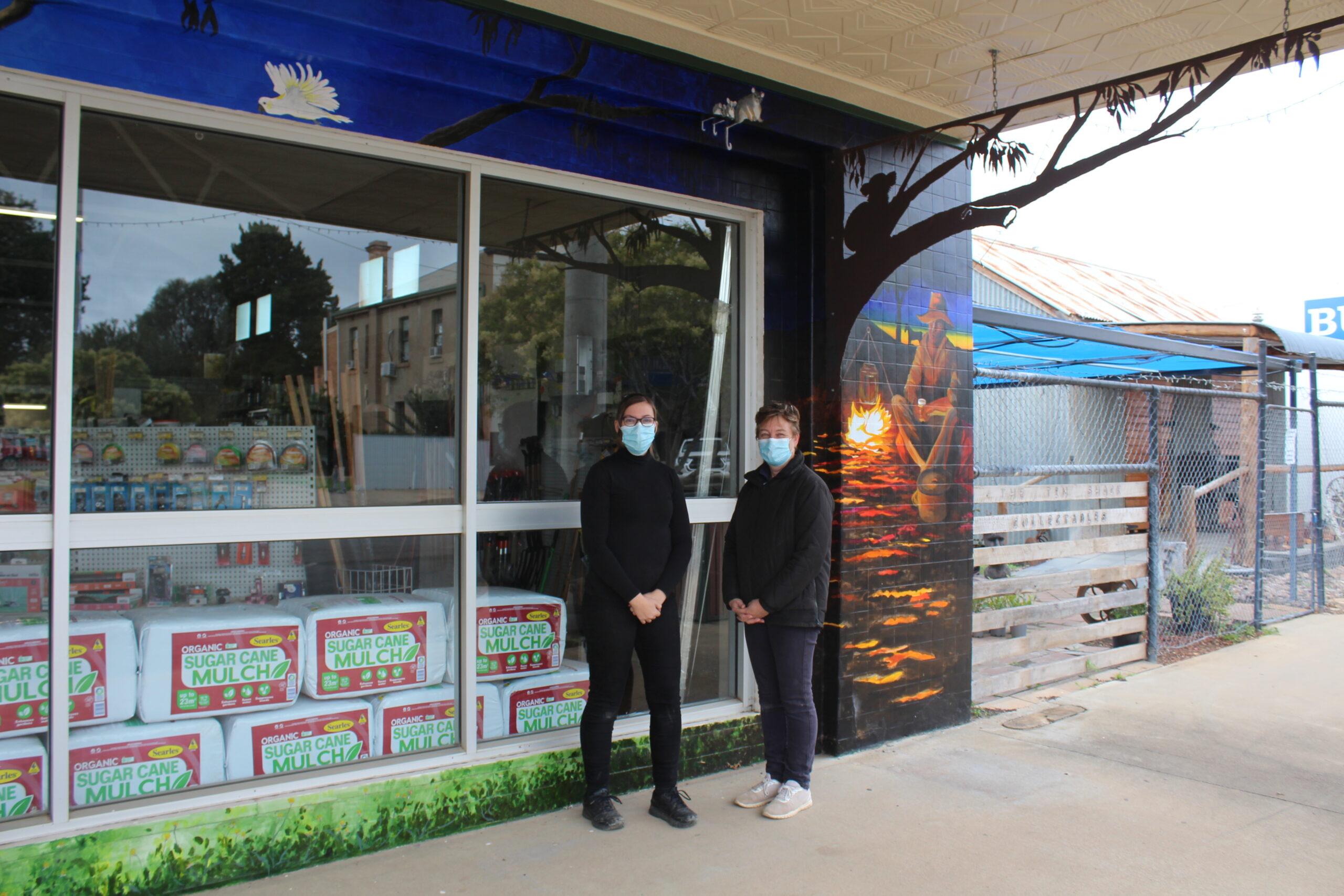 Business beautification project adds colour splash to Boggabri