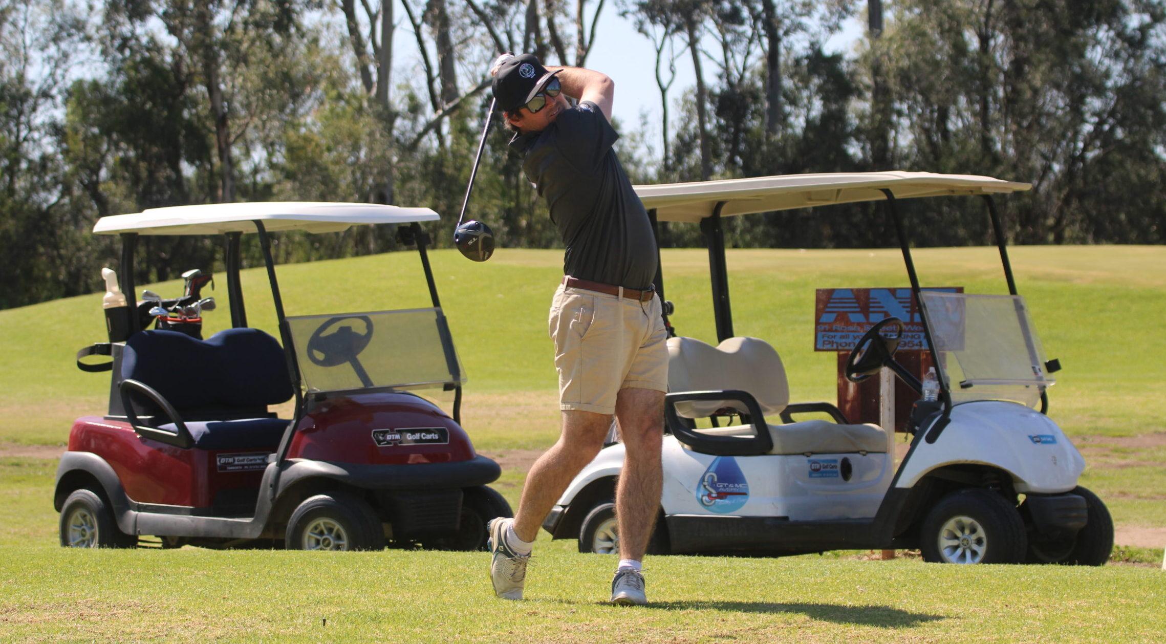 David Avery crowned Wee Waa Golf Club's 2021 club champion