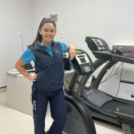 Sky's the limit for local health students