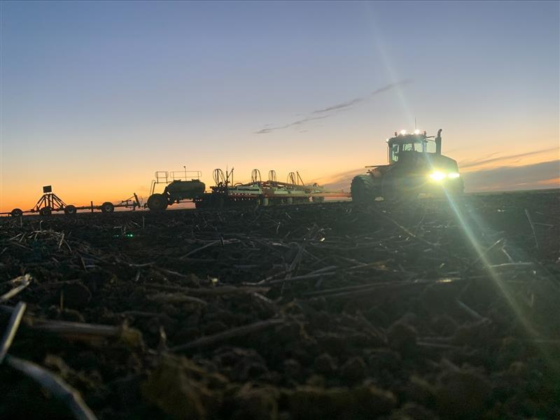 Wee Waa High School student Axel Currey's photo essay of sunsets on farm.