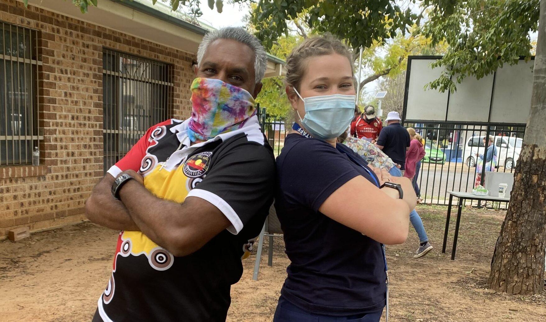 Community praises superhero health workers