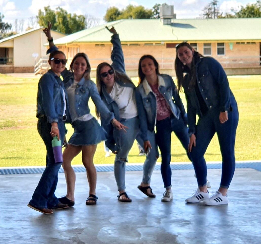 Wee Waa High students mark Jeans for Genes Day