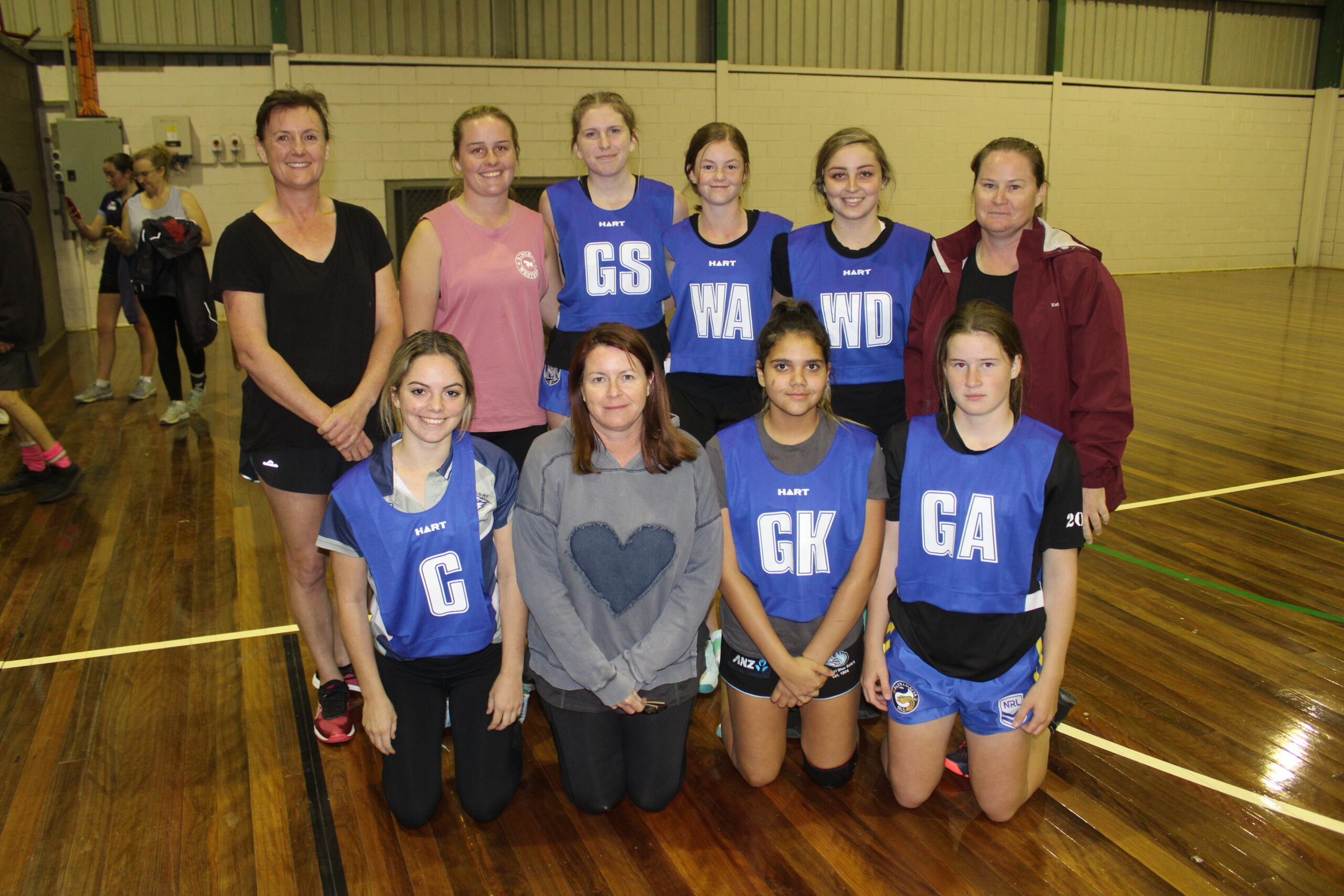 Goal Diggers crowned Wee Waa Netball's 2021 indoor comp champions