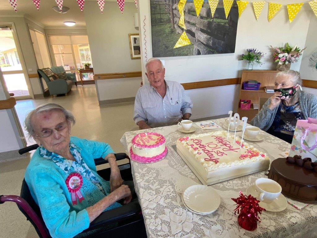 Special 101st birthday celebrations for Doris