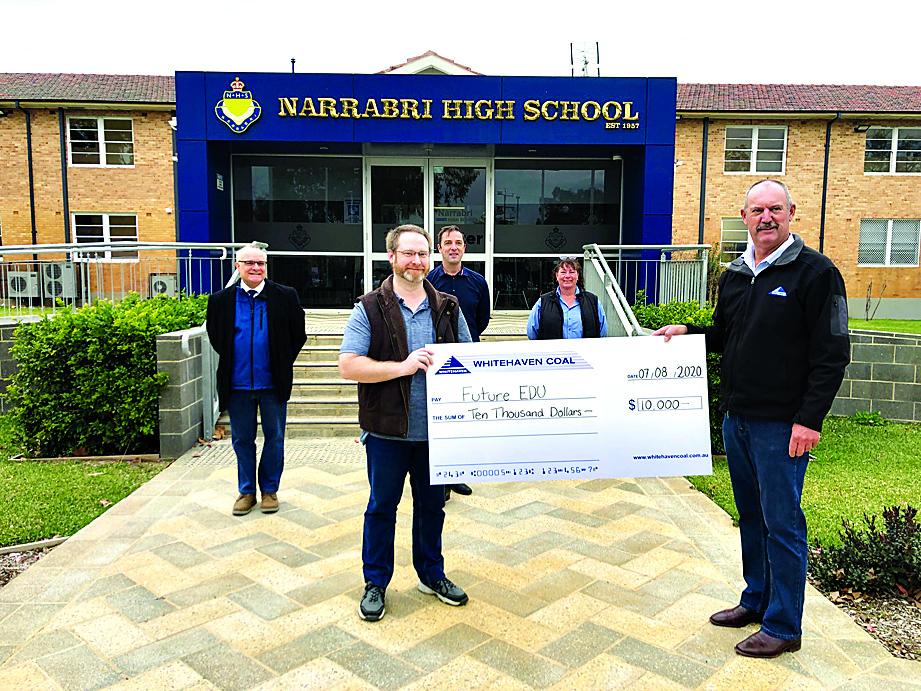 Whitehaven empowers community through $200,000 sponsorship, donations program