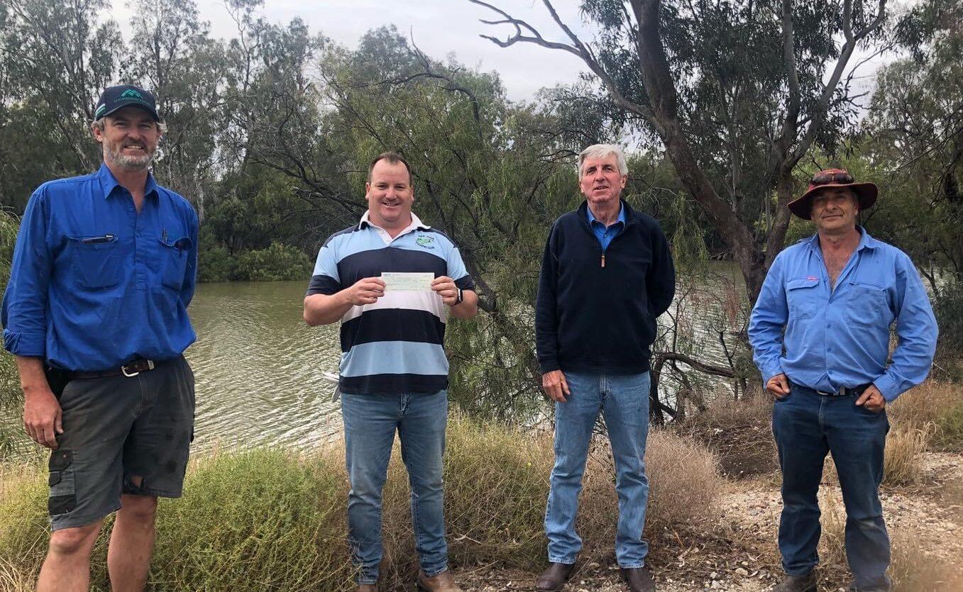 Wee Waa Fishing Club hooks generous donation