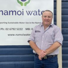 New executive officer of Namoi Water Mick Coffey.