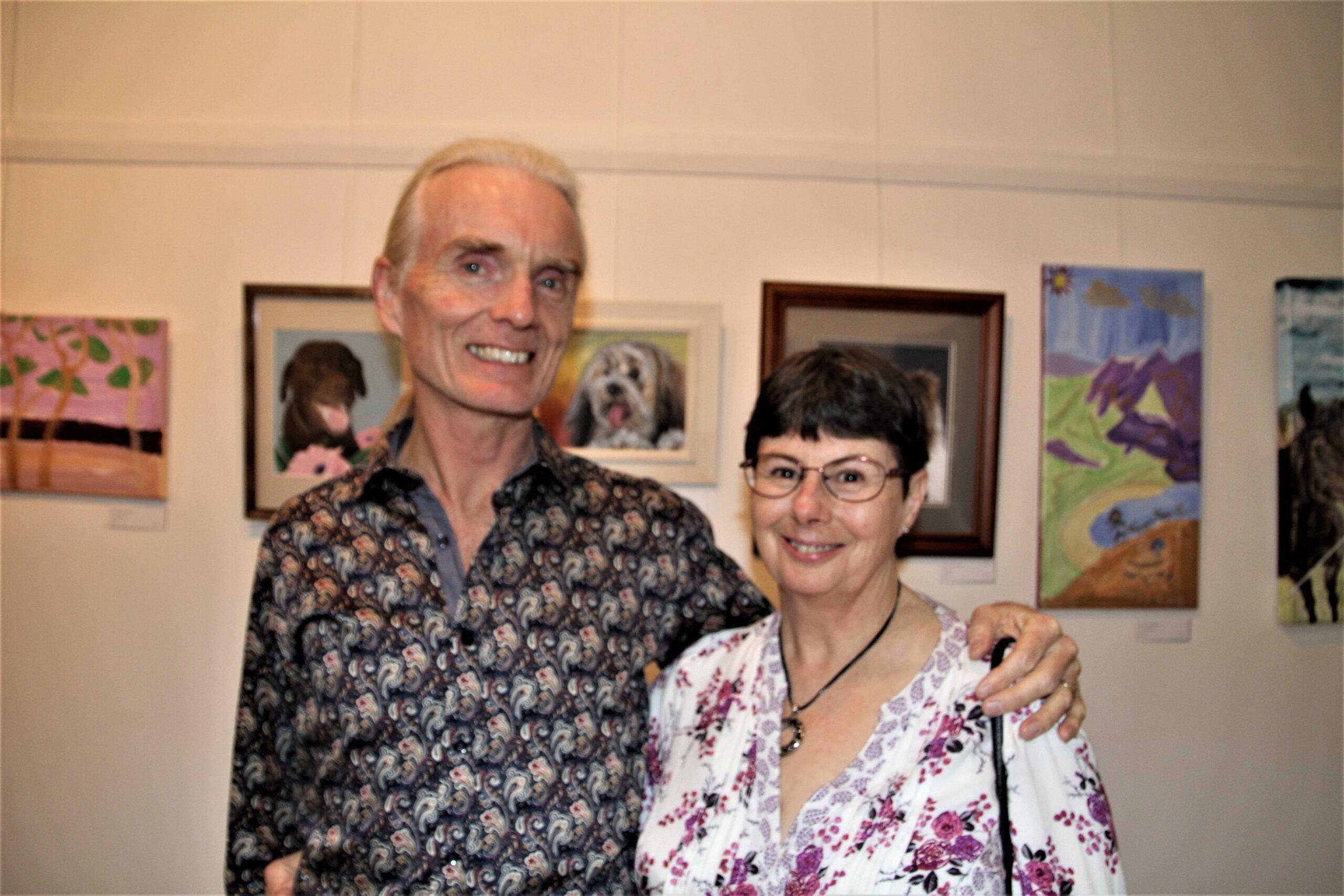 Graeme and Donna Compton.
