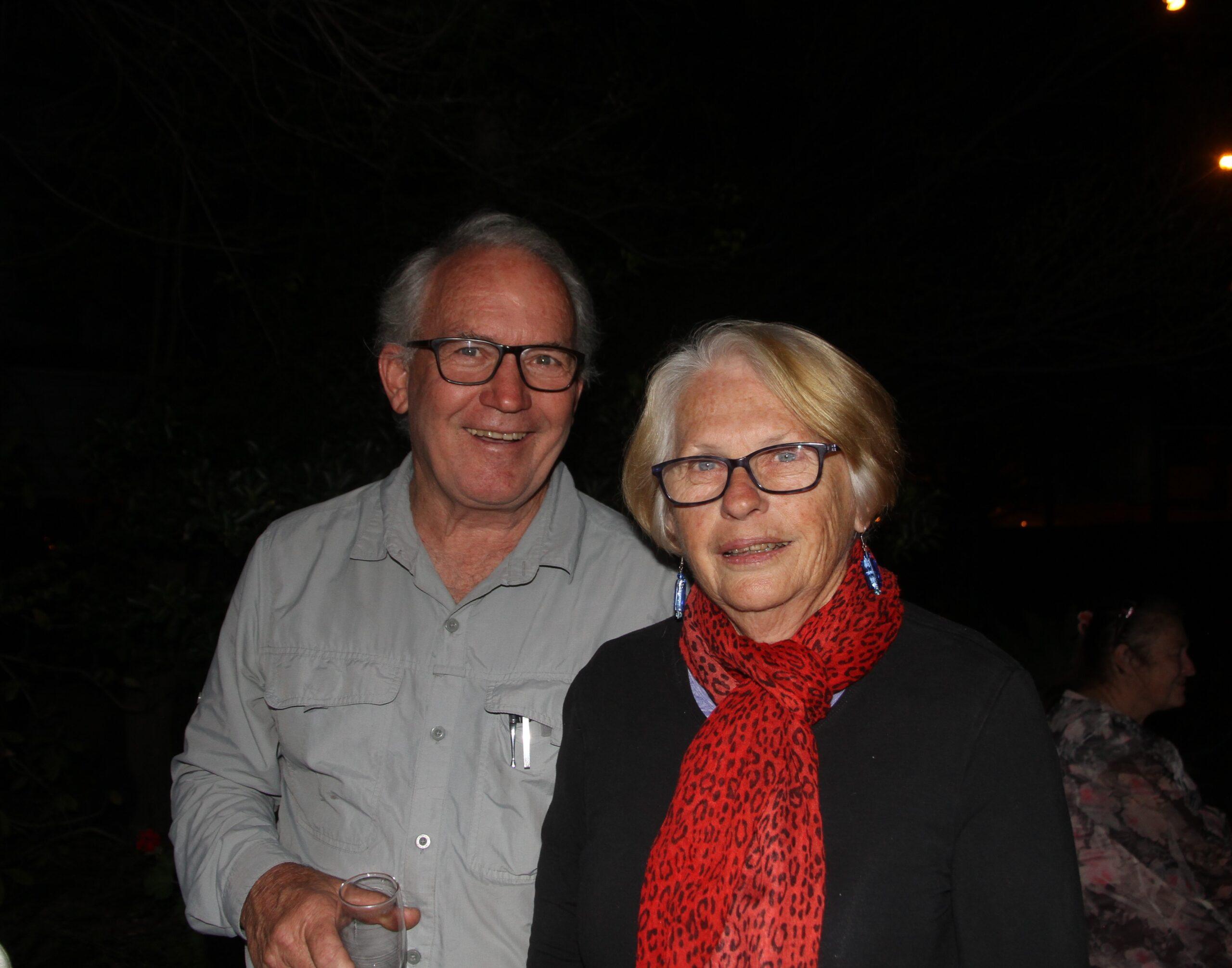 Rohan and Anne Boehm.