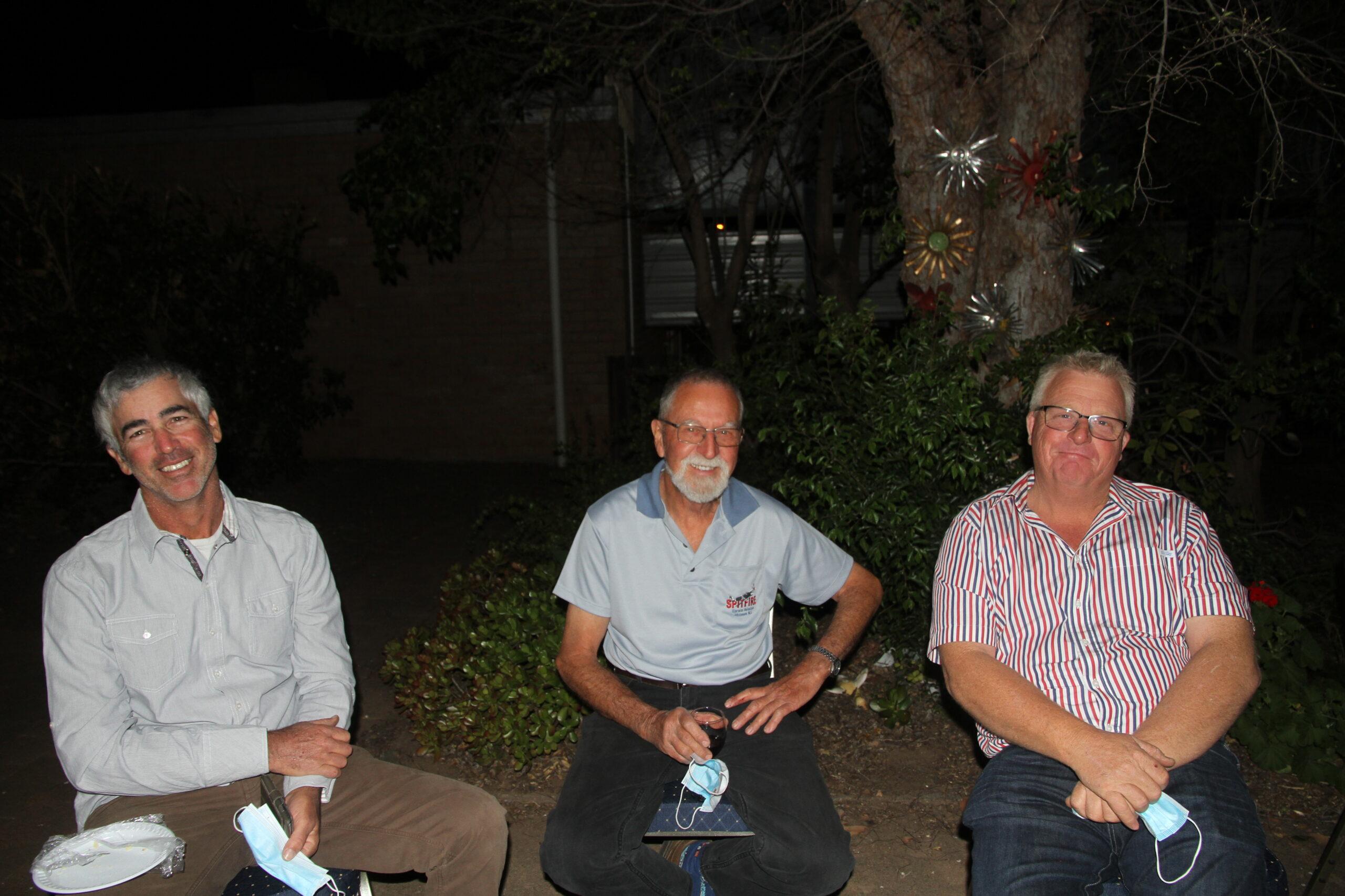 Nimrod Mor, Ken Nobilo and Wayne Pym.