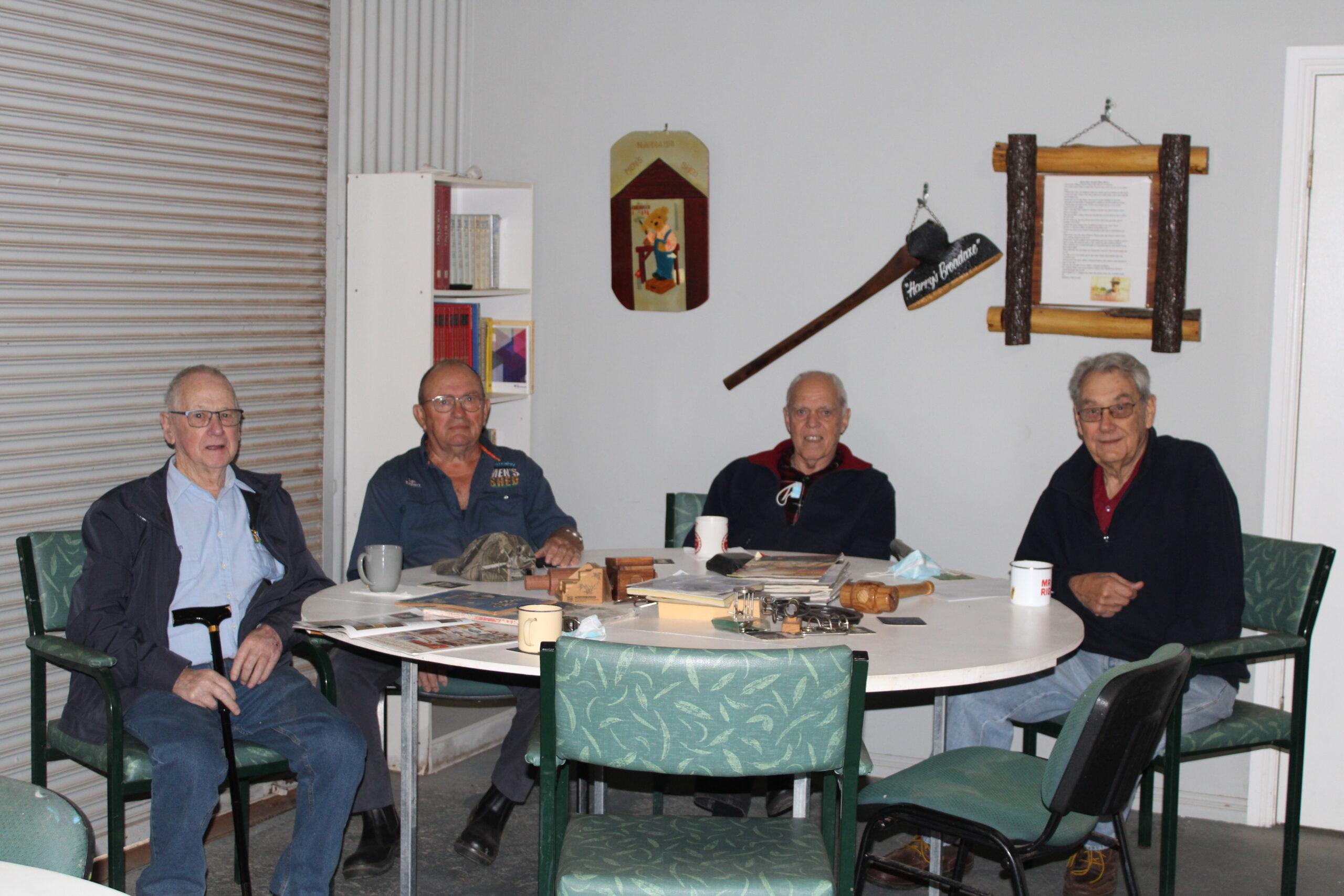 Paul Sorensen, Ian Follett, Barry Smith and Peter Hammond.