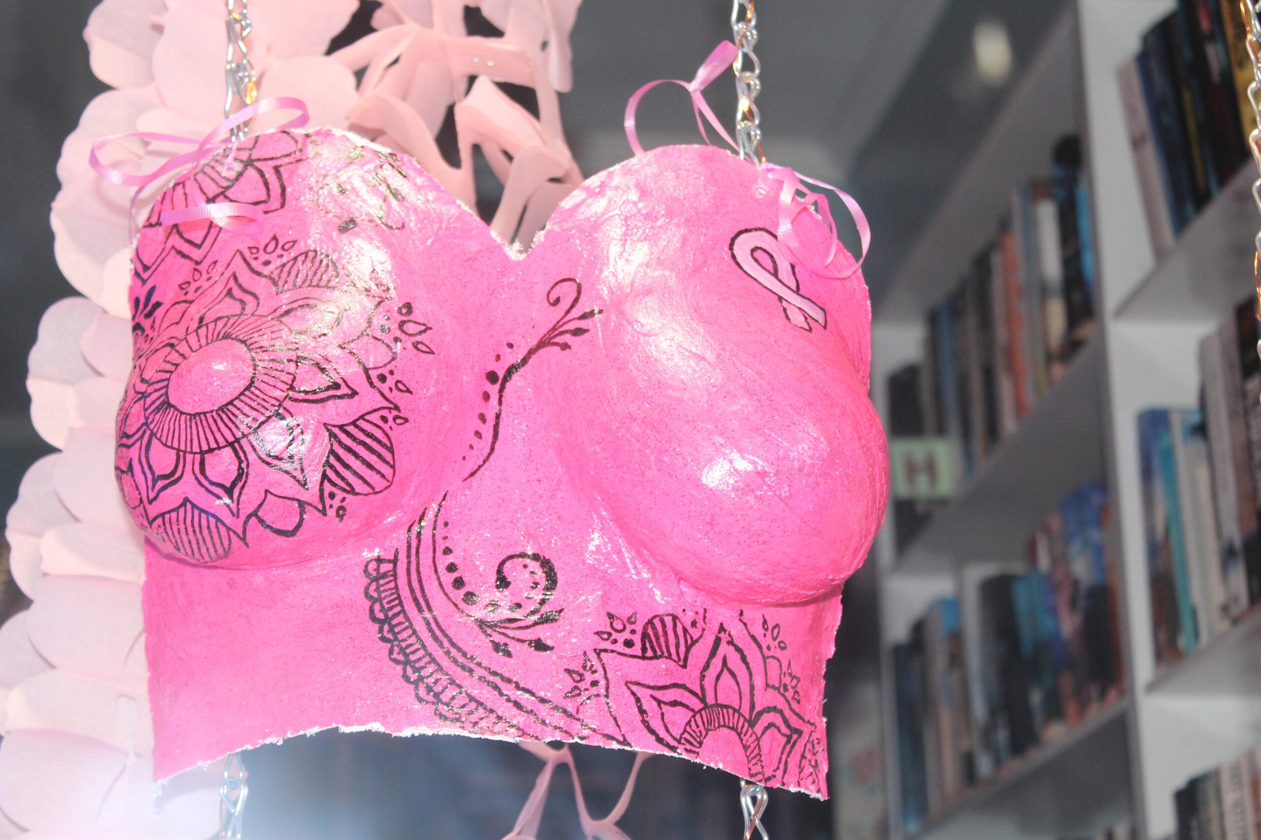 Pink cast.